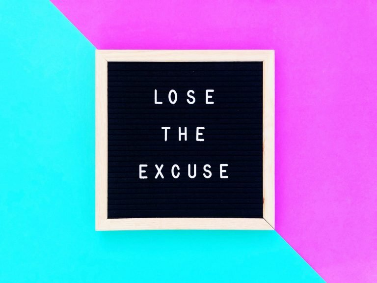 Excuses and Content Marketing