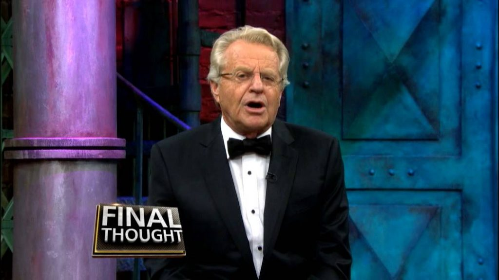 Picture of jerry Springer